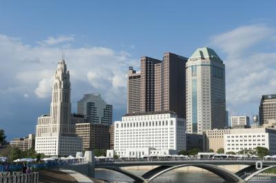 Photo of the Columbus skyline