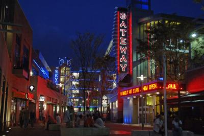 Photo of the Gateway district in Columbus