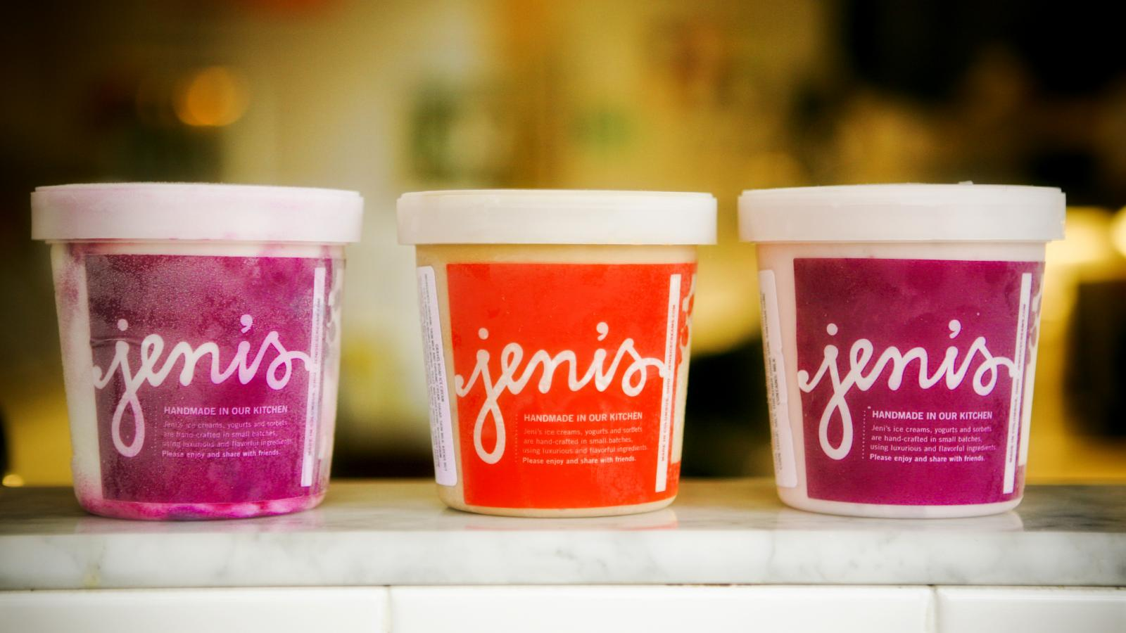Jeni's Splendid Ice Creams pints Photo Credit: Jeni's Splendid Ice Creams