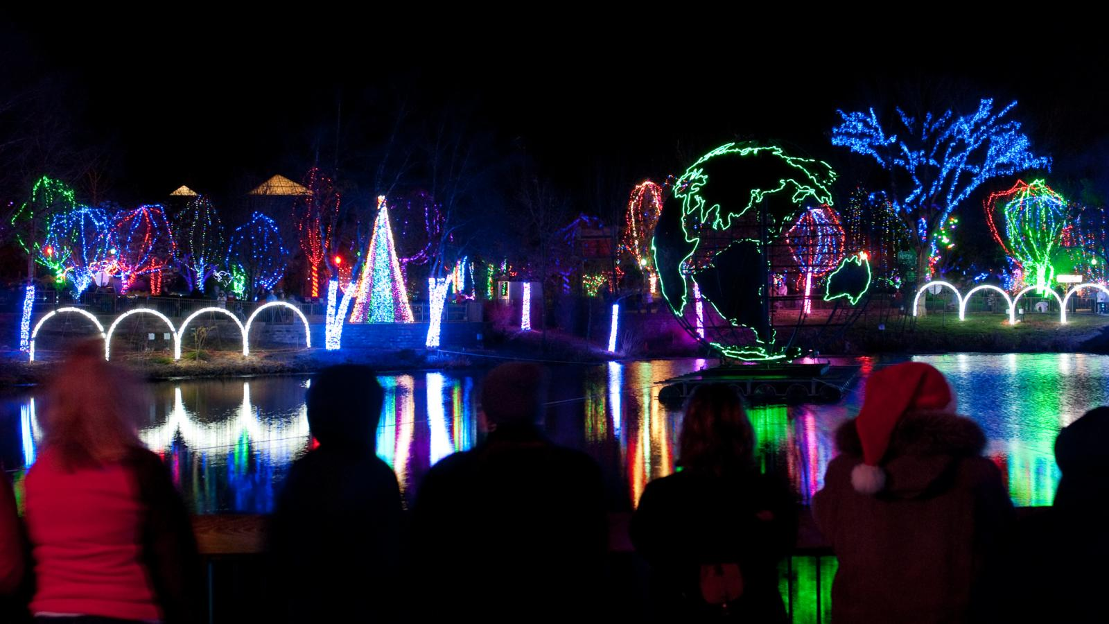 Wildlights at Columbus Zoo & Aquarium Photo Credit: Columbus Zoo & Aquarium